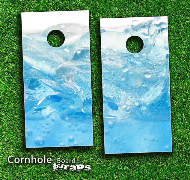 Fresh Water Skin-set for a pair of Cornhole Boards