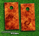 Flaming Inferno Skin-set for a pair of Cornhole Boards