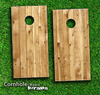 Raw Wood Skin-set for a pair of Cornhole Boards