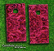 Pink Inferno Skin-set for a pair of Cornhole Boards