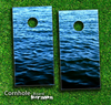 Rough Water Skin-set for a pair of Cornhole Boards