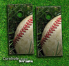 Vintage Baseball Skin-set for a pair of Cornhole Boards