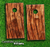 Warped Wood Skin-set for a pair of Cornhole Boards