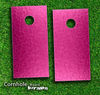 Pink Stamped Skin-set for a pair of Cornhole Boards
