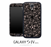 Black Lacy Skin for the Galaxy S4