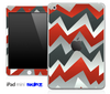 Orange Abstract Chevron Pattern Skin for the iPad Mini or Other iPad Versions