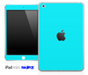 Solid Aqua Blue Skin for the iPad Mini or Other iPad Versions