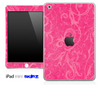 Subtle Pink Floral Lace Pattern Skin for the iPad Mini or Other iPad Versions