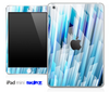 Blue Abstract 3D Pattern Skin for the iPad Mini or Other iPad Versions