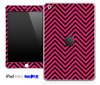 Pink/Black Sharp Chevron Pattern Skin for the iPad Mini or Other iPad Versions