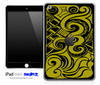 Abstract Gold Swirls iPad Skin By Lauren Pyles