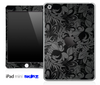 Black Paisley Floral Skin for the iPad Mini or Other iPad Versions