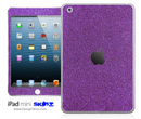 Purple Fabric iPad Skin