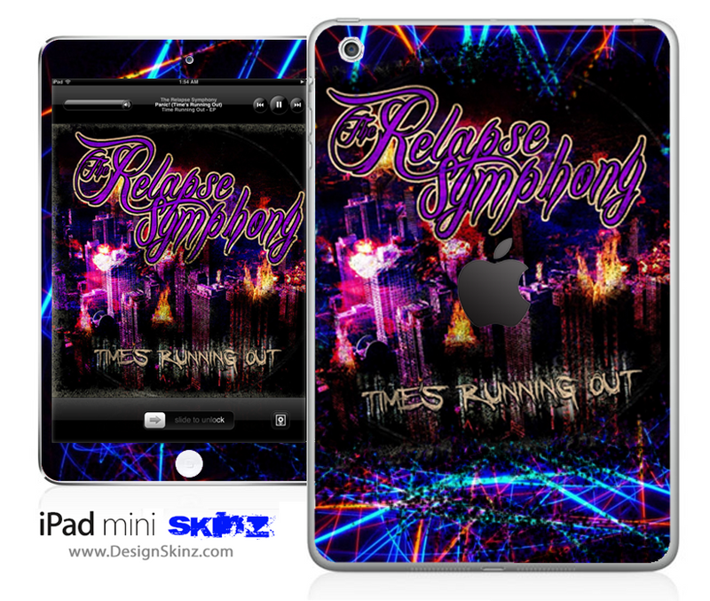 The Relapse Symphony Strobe Light iPad Skin