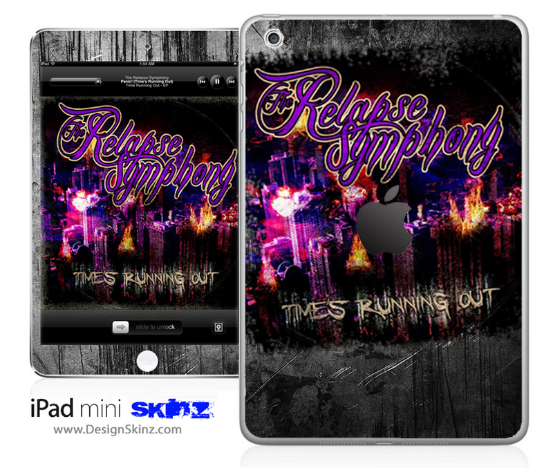 The Relapse Symphony Scratched iPad Skin