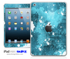 Blue Paint Splatter iPad Skin