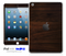 Dark Rich Wood iPad Skin