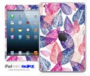 Seamless Floral Illustration iPad Skin