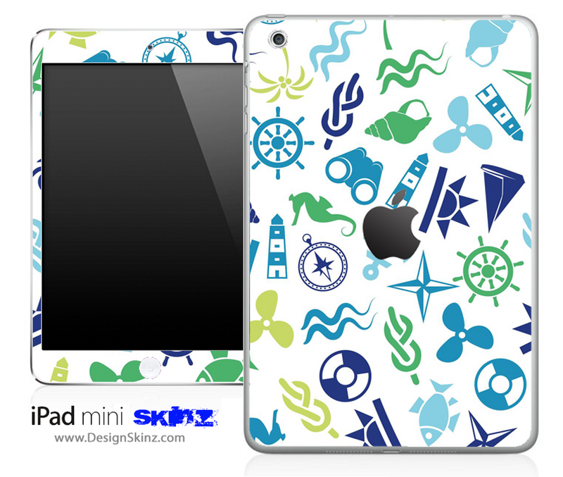 Anchors n' Such iPad Skin