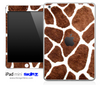 Real Giraffe Pattern iPad Skin