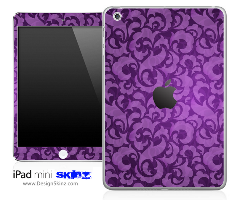 Purple Lace iPad Skin