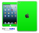 Solid Lime Green iPad Skin
