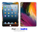 Color-feathers iPad Skin