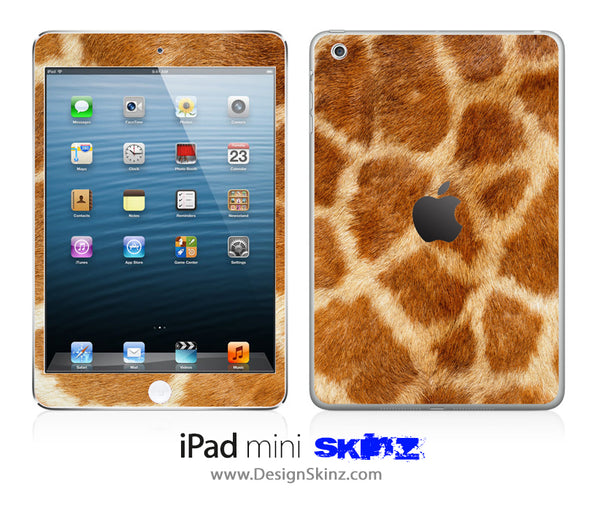 Real Giraffe iPad Skin