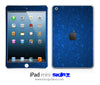 Blue Lacy Pattern iPad Skin
