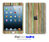 Vintage Striped iPad Skin