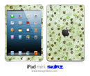 Vintage Green Stars n' Such iPad Skin