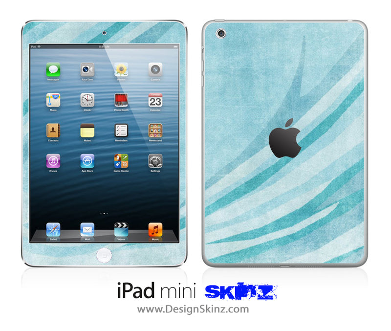 Vintage Blue Highlighted iPad Skin