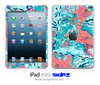 Abstract Map iPad Skin