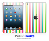 Bright Neon Striped iPad Skin