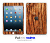 Warped Wood iPad Skin