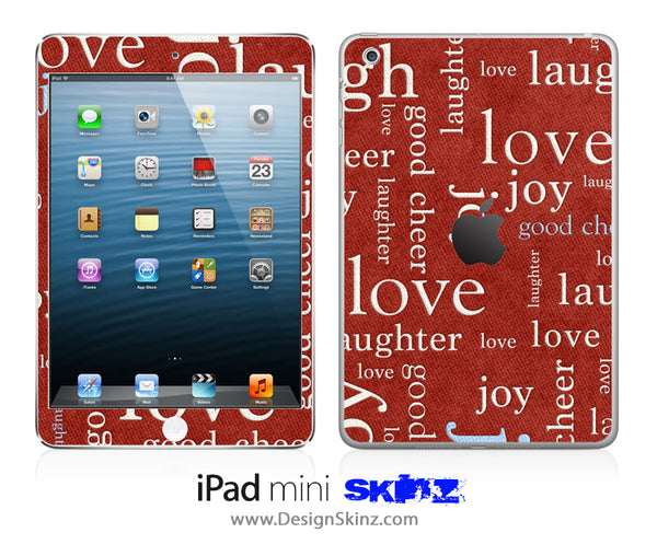 Love Wallpaper iPad Skin
