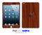 Mahogany Wood iPad Skin
