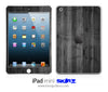 Dark Washed Wood iPad Skin