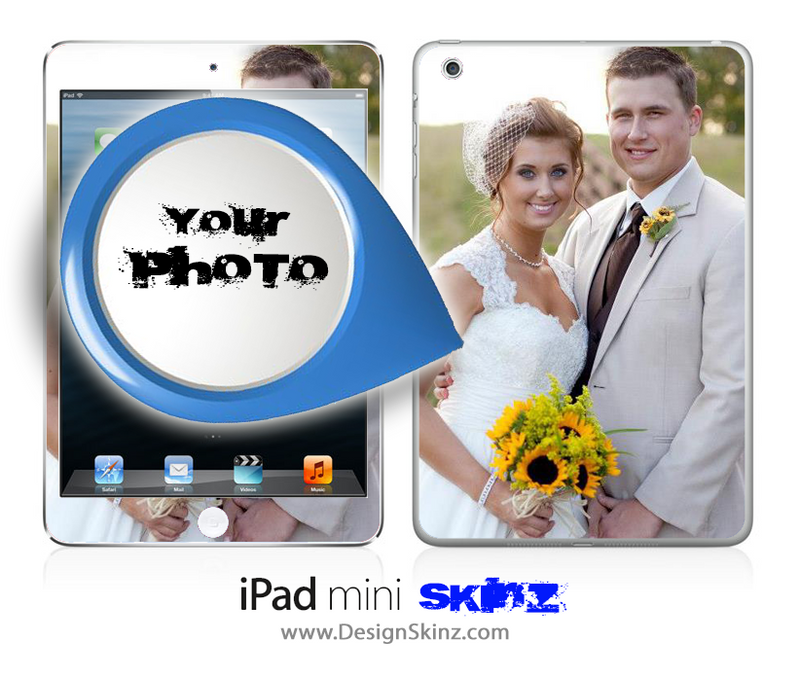 Add Your Photo! iPad Skin