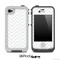 Subtle White Chevron Pattern for the iPhone 5 or 4/4s LifeProof Case