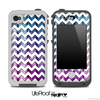 Chevron Pattern With Neon Wood for the iPhone 5 or 4/4s LifeProof Case