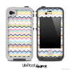 Thin Color Lines Chevron Pattern Skin for the iPhone 5 or 4/4s LifeProof Case