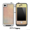 Subtle Vintage Orange Chevron Pattern Skin for the iPhone 5 or 4/4s LifeProof Case