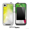 Abstract Red Green & Yellow Skin for the iPhone 5 or 4/4s LifeProof Case