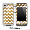 Furry Animal and White Chevron Pattern for the iPhone 5 or 4/4s LifeProof Case