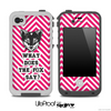 What Does the Fox Say White And Pink Skin for the iPhone 5 or 4/4s LifeProof Case