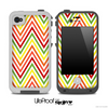 Bright Colors Chevron Pattern Skin for the iPhone 5 or 4/4s LifeProof Case