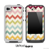 Multiples Summer Chevron Pattern Skin for the iPhone 5 or 4/4s LifeProof Case
