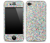 Colorful Dotted Print Skin for the iPhone 3gs, 4/4s or 5