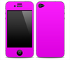 Hot Pink Skin for the iPhone 3gs, 4/4s or 5